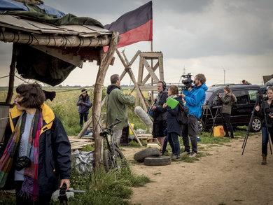 Hambacher Forst - Besatzer-Camp