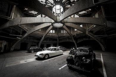 Lastkraftwagenhalle