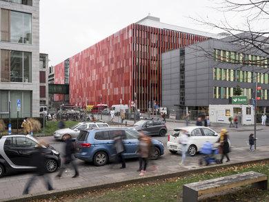 CIO - Centrum fuer Integrierte Onkologie - Bauphase